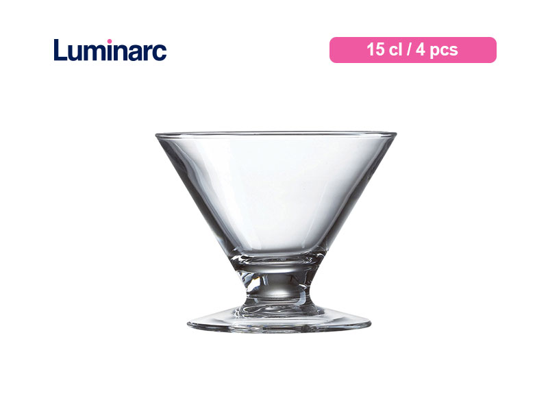 Luminarc Gelas Es Krim Kyoto Cocktail 15 Cl / 4 Pcs