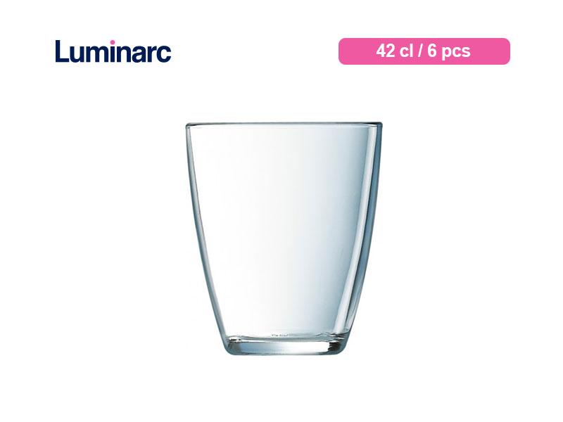 Luminarc Gelas Minum Neo Tumbler 42 Cl / 6 Pcs