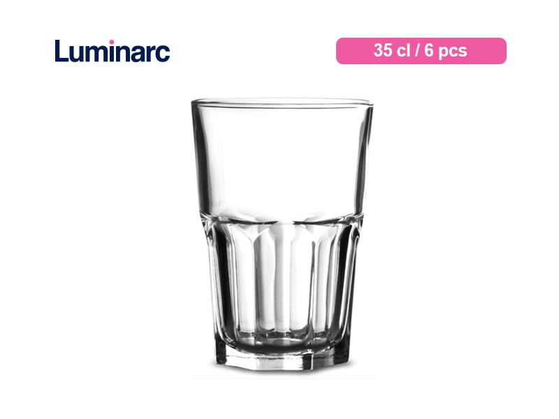 Luminarc Gelas Minum Granity Tumbler 35 Cl / 6 Pcs