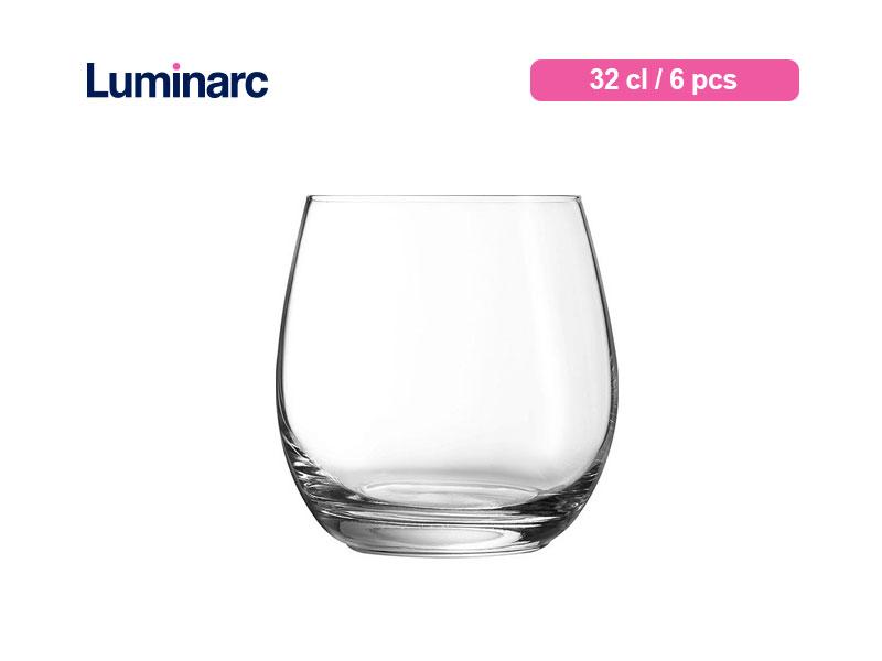 Luminarc Gelas Minum Mineral Tumbler 32 Cl / 6 Pcs