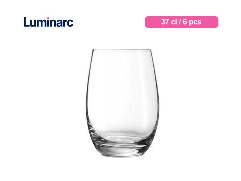 Luminarc Gelas Minum Mineral Tumbler 37 Cl / 6 Pcs