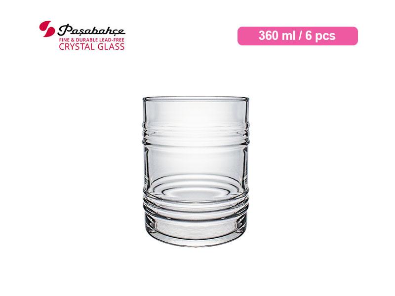 Pasabahce Gelas Minum Tin Can Tumbler 36 cl / 6 pcs