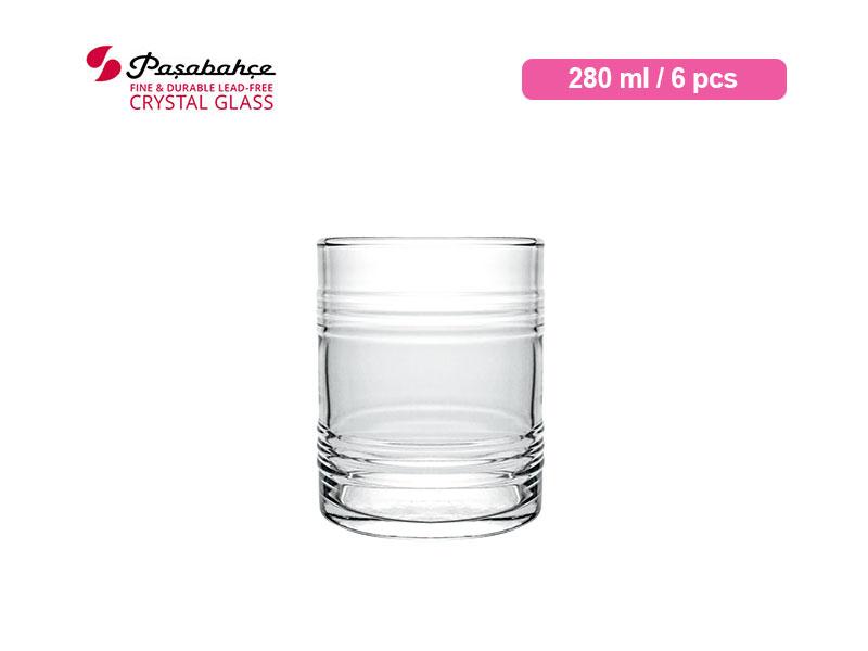 Pasabahce Gelas Minum Tin Can Tumbler 28 cl / 6 pcs