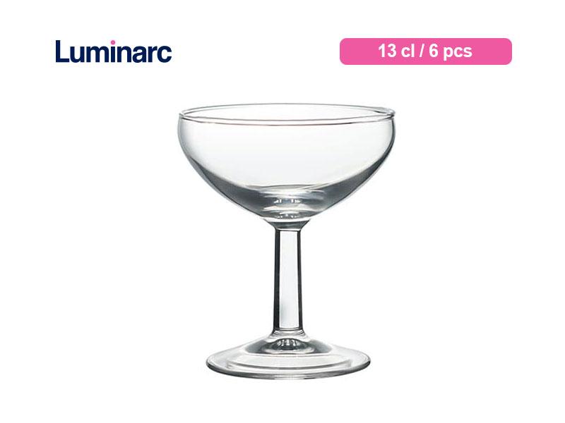 Arcoroc Gelas Berkaki Ballon Champagne 13 Cl / 6 pcs