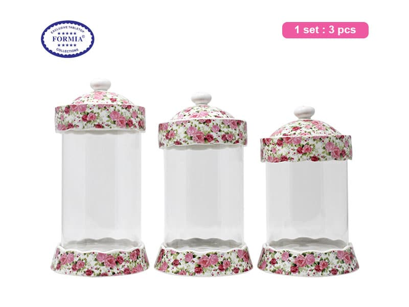 Formia Toples Royal Rose Set / 3 pcs Crown Full