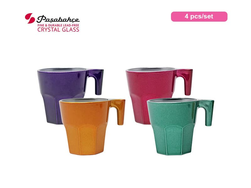 Pasabahce Gelas Espresso Casablanca Tropic Set / 4 Pcs
