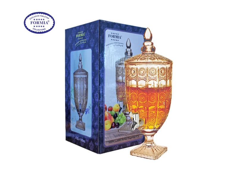 Formia Dispenser Air Minum 500PK 4.5 Ltr Gold Amber / pcs