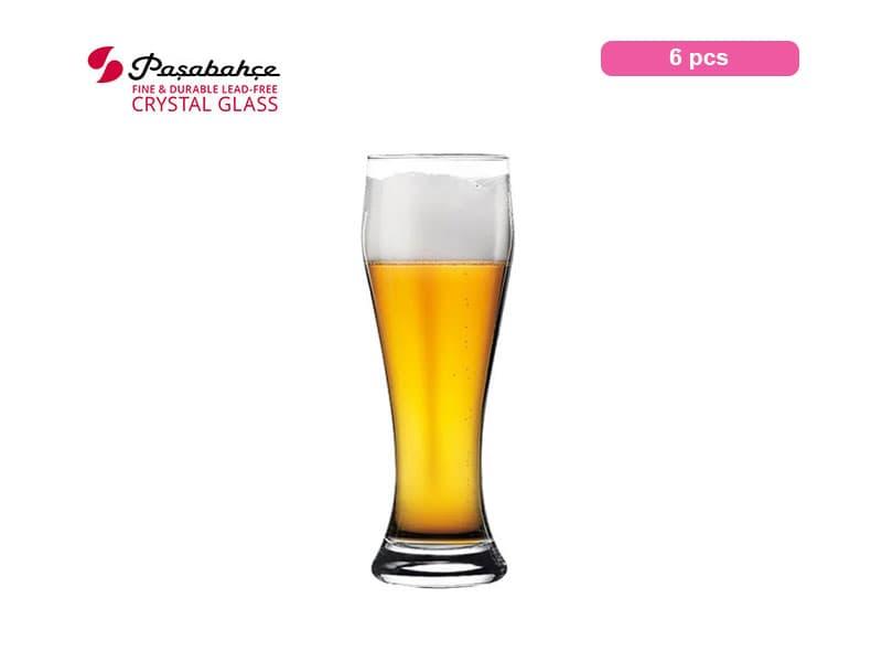Pasabahce Gelas Minum Bir Weissen Beer 66 Cl / 6 Pcs