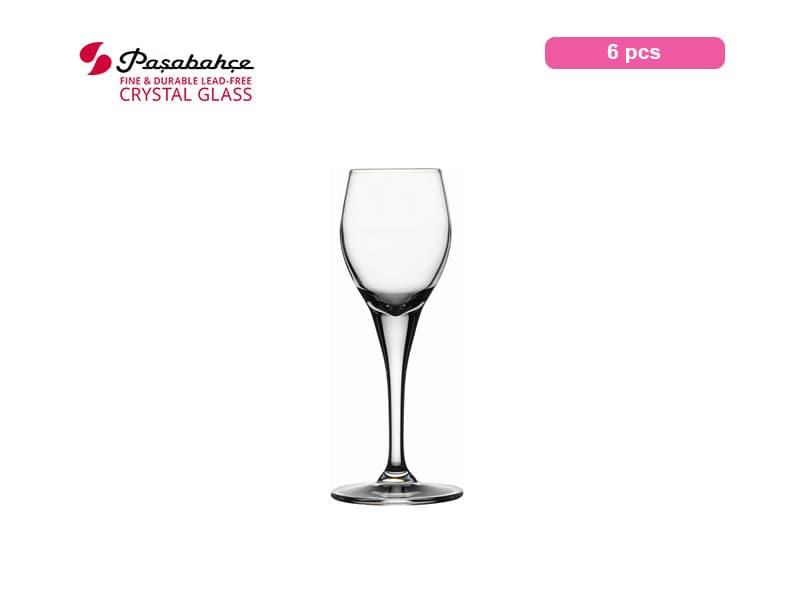 Pasabahce Gelas Minum Primeur Liquor 10 Cl / 6 Pcs