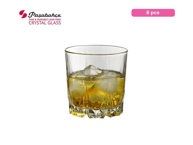 Pasabahce Gelas Minum Karat Tumbler Whiskey 30 Cl / 6 Pcs