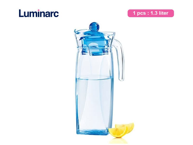 Luminarc Teko Air Flame Jug Ice Blue 1.3 Ltr / Pcs