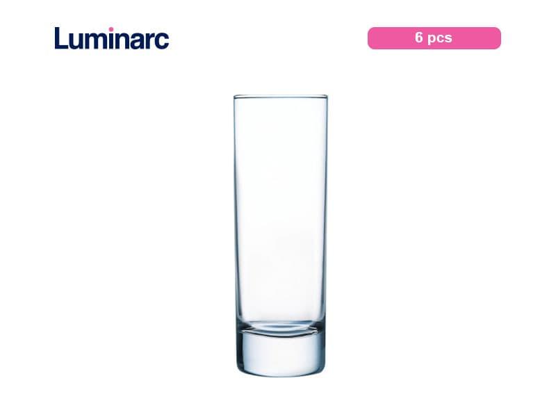Luminarc Gelas Minum Islande Tumbler 22 Cl Tubo / 6 Pcs