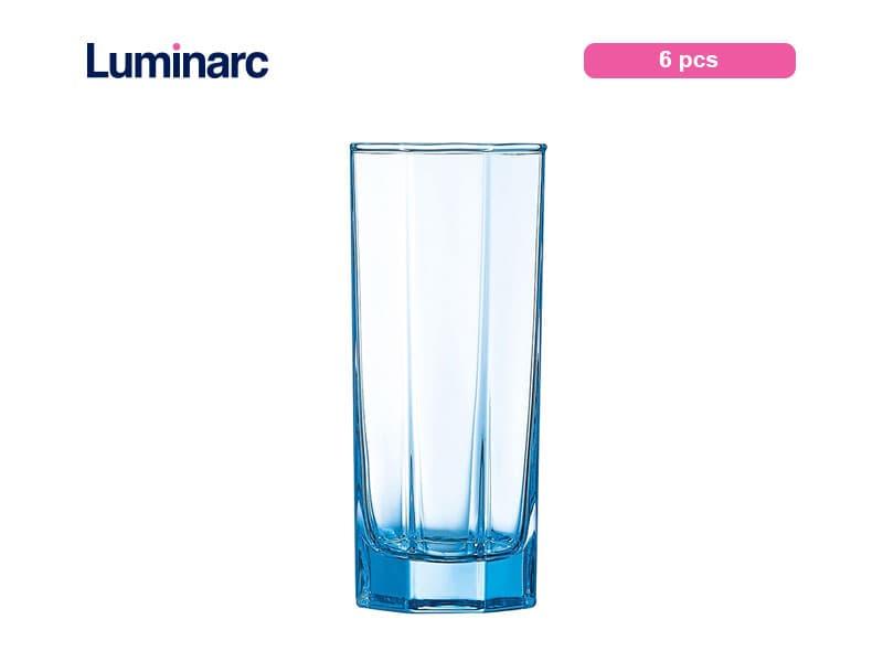 Luminarc Gelas Minum Octime Tumbler 32 Cl Ice Blue / 6 Pcs