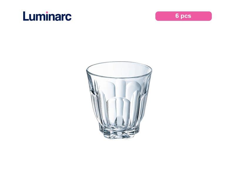 Luminarc Gelas Puding Arcade Tumbler 9 Cl / 6 Pcs