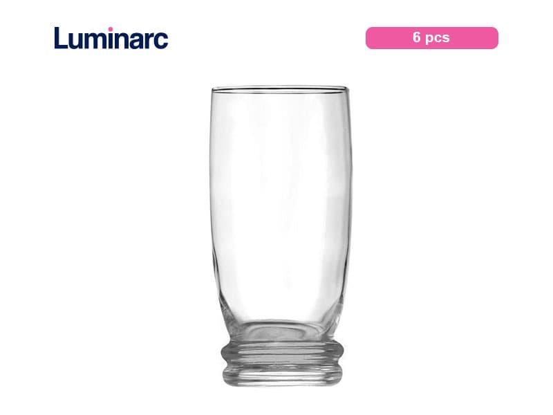 Luminarc Gelas Minum Cortina 33 Cl / 6 Pcs