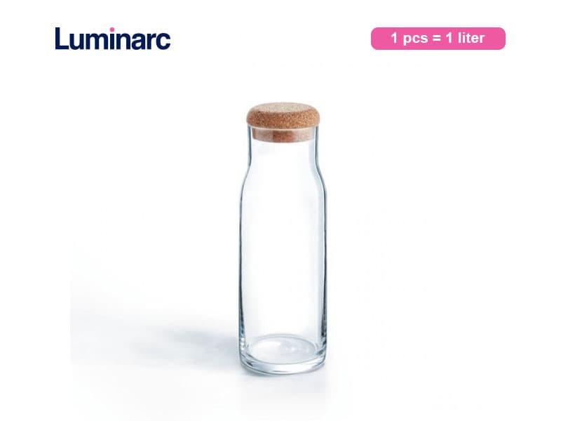 Luminarc Botol Petale Decanter Clear 1 Ltr / Pcs