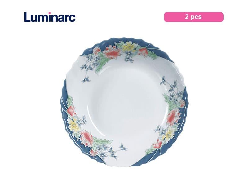 Luminarc Piring Kuah Florine Soup Plate / 2 Pcs