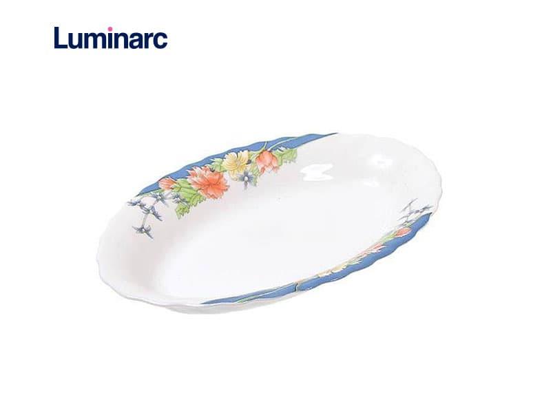 Luminarc Piring Penyaji Mini Florine Oval Dish 22 Cm / Pcs