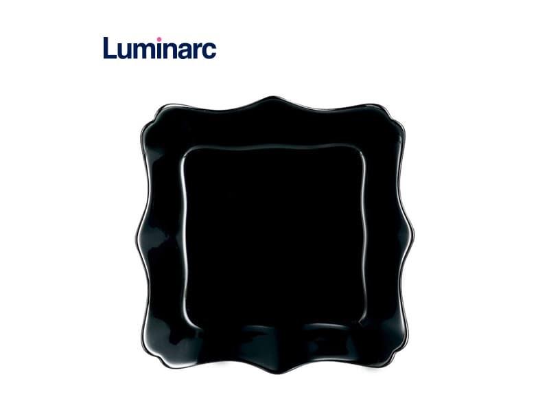 Luminarc Piring Sayur Authentic Black Soup Plate /  pcs