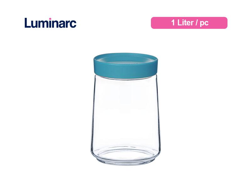 Luminarc Toples Pot Swing 1.0 L With Lid / pc