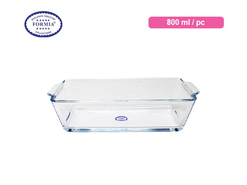 Formia Penyaji Bake & Serve Rectangular Loaf Dish 800 Ml / Pc