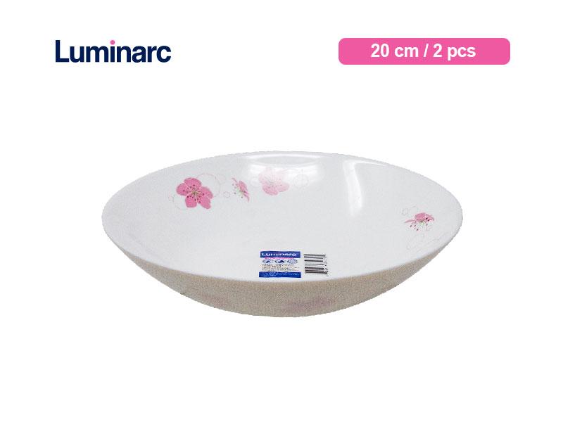 Luminarc Piring Sayur Diwali Ikumi 20 cm/ 3 Pcs