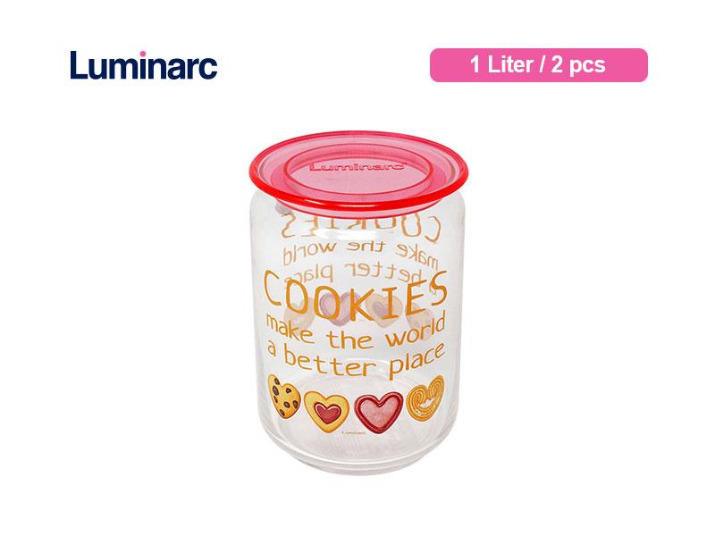Luminarc Toples Rondo Cookies 1 ltr / 2 pcs