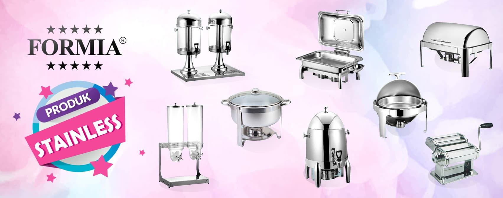 perlengkapan dapur stainless